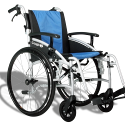 "Excel G-Lite Pro Lightweight Self Propelled Wheelchair 18"" Standard Seat Width"